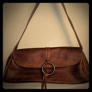 Leather tasle purse